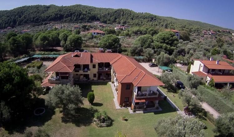Aerial View | Litsa Panagi Apartments - Studios