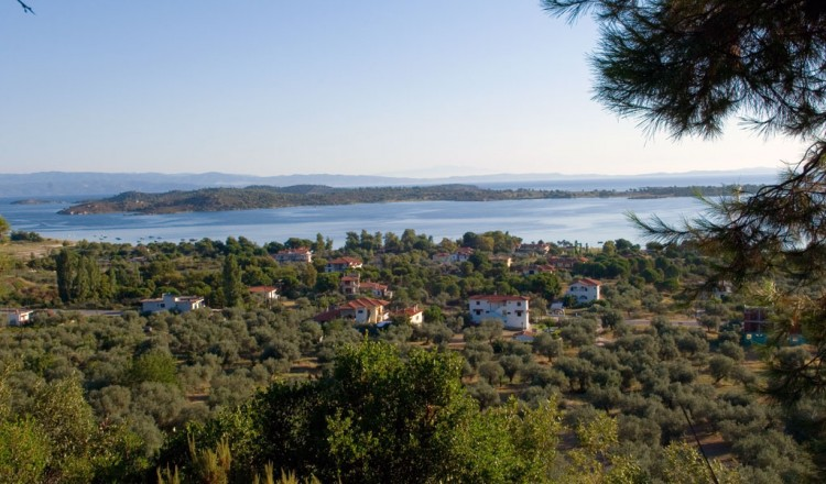 Panoramic view from Vourvourou Halkidiki