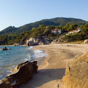 Beach Fava Vourvourou Halkidiki Sithonia