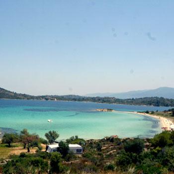 Beach Lagonisi Vourvourou Halkidiki Sithonia