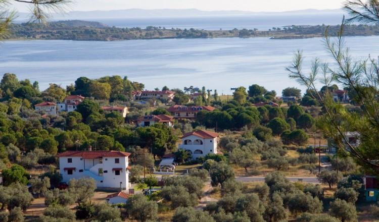 Panoramic view Vourvourou Halkidiki
